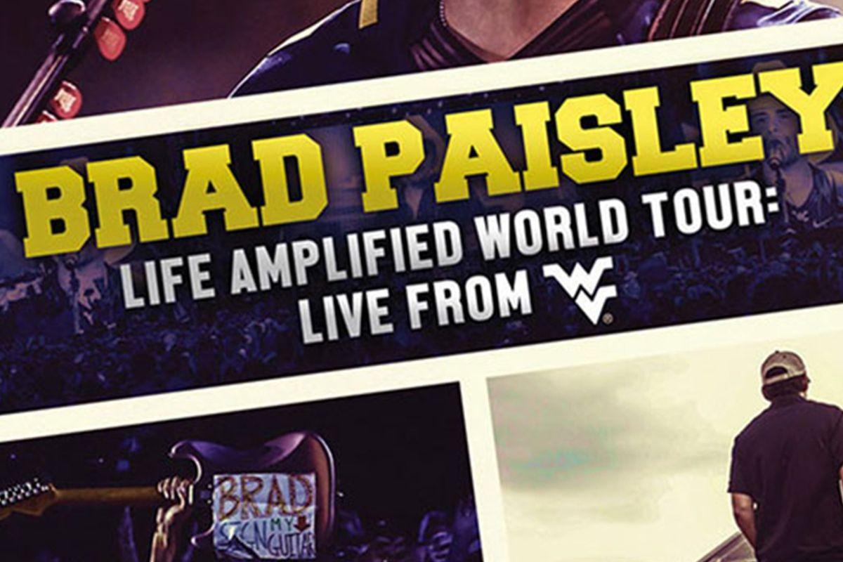 Brady Paisley Life Amplified World Tour