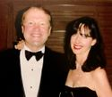 John Chambers and his wife