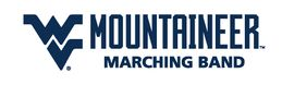 "Banner that reads ""WV Mountaineer Marching Band"""
