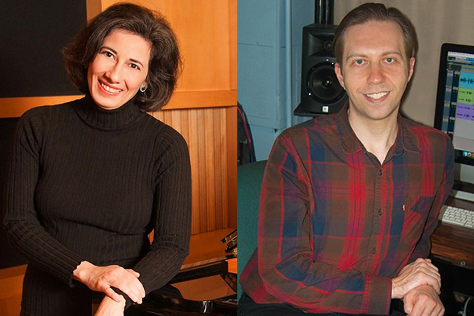 Lucy Mauro and Mark Benincosa portraits