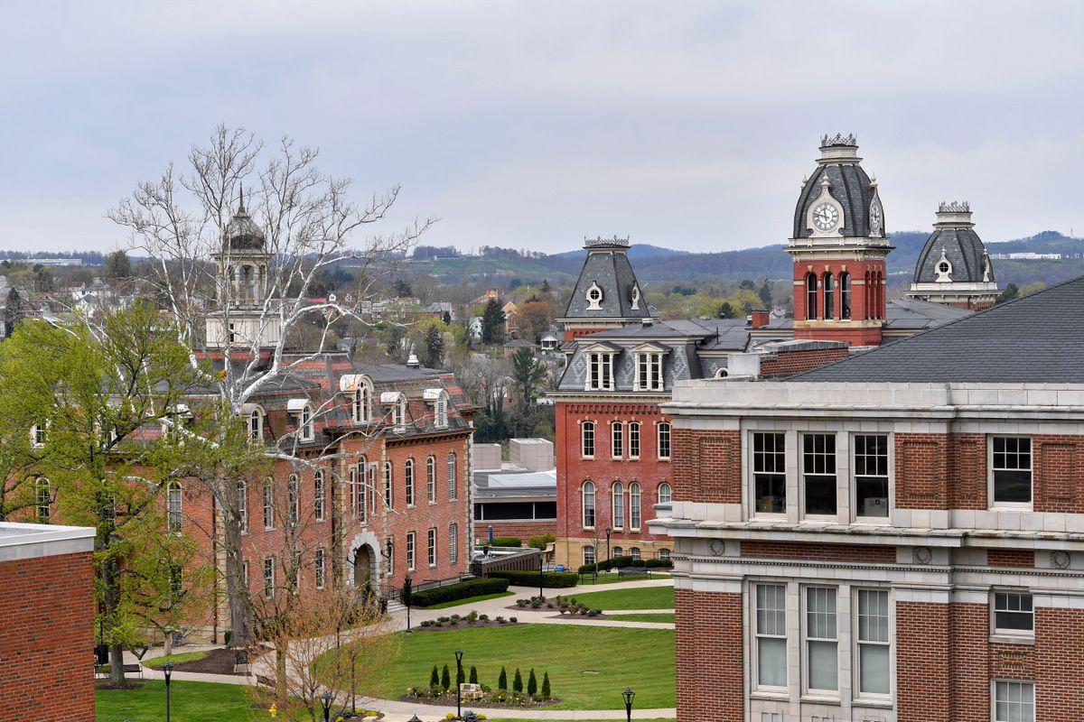 WVU Morgantown campus