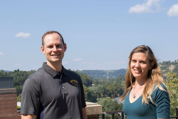 Simon Haeder and Sara Anderson