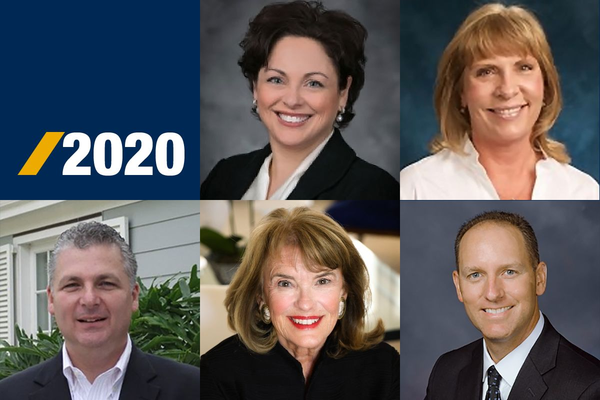 composite of new foundation board members