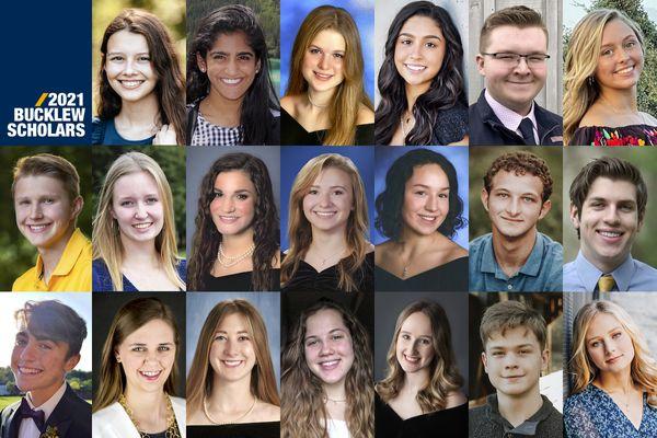 2021 Bucklew Scholars