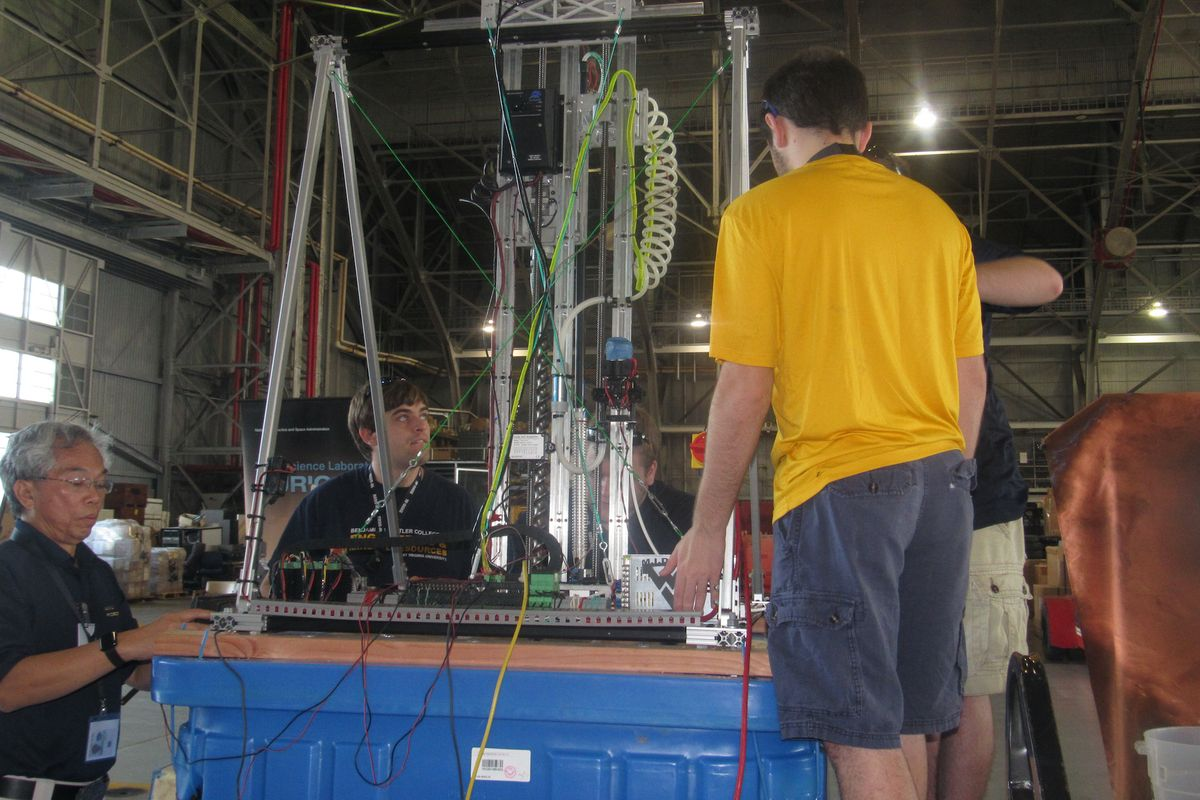 WVU team prepares for Mars Ice Challenge