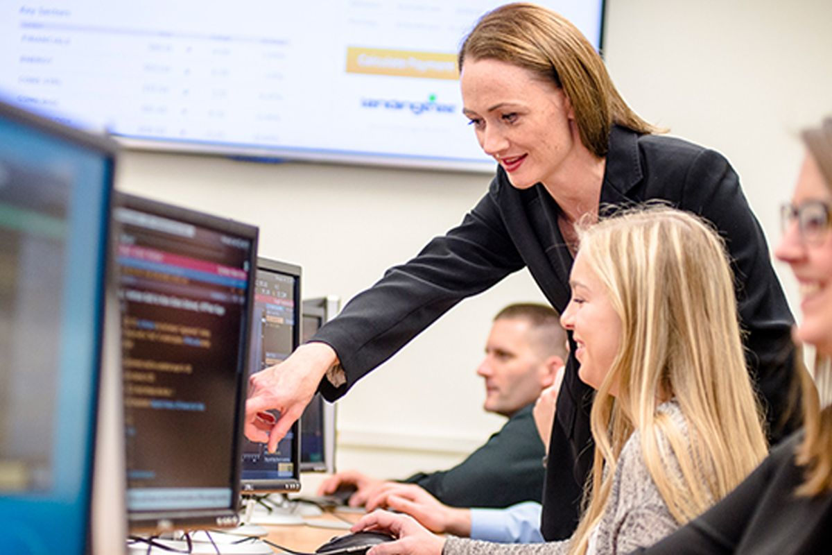 WVU student managed investment fund provides real money, hands-on experience to finance students