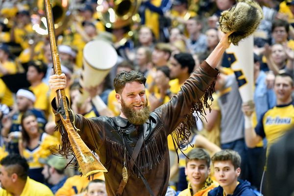 Mountaineer Mascot Troy Clemons