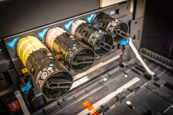 inside of printer cartridge
