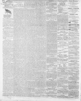Page from the Daily Intelligencer, Saturday Morning, June 20, 1863.