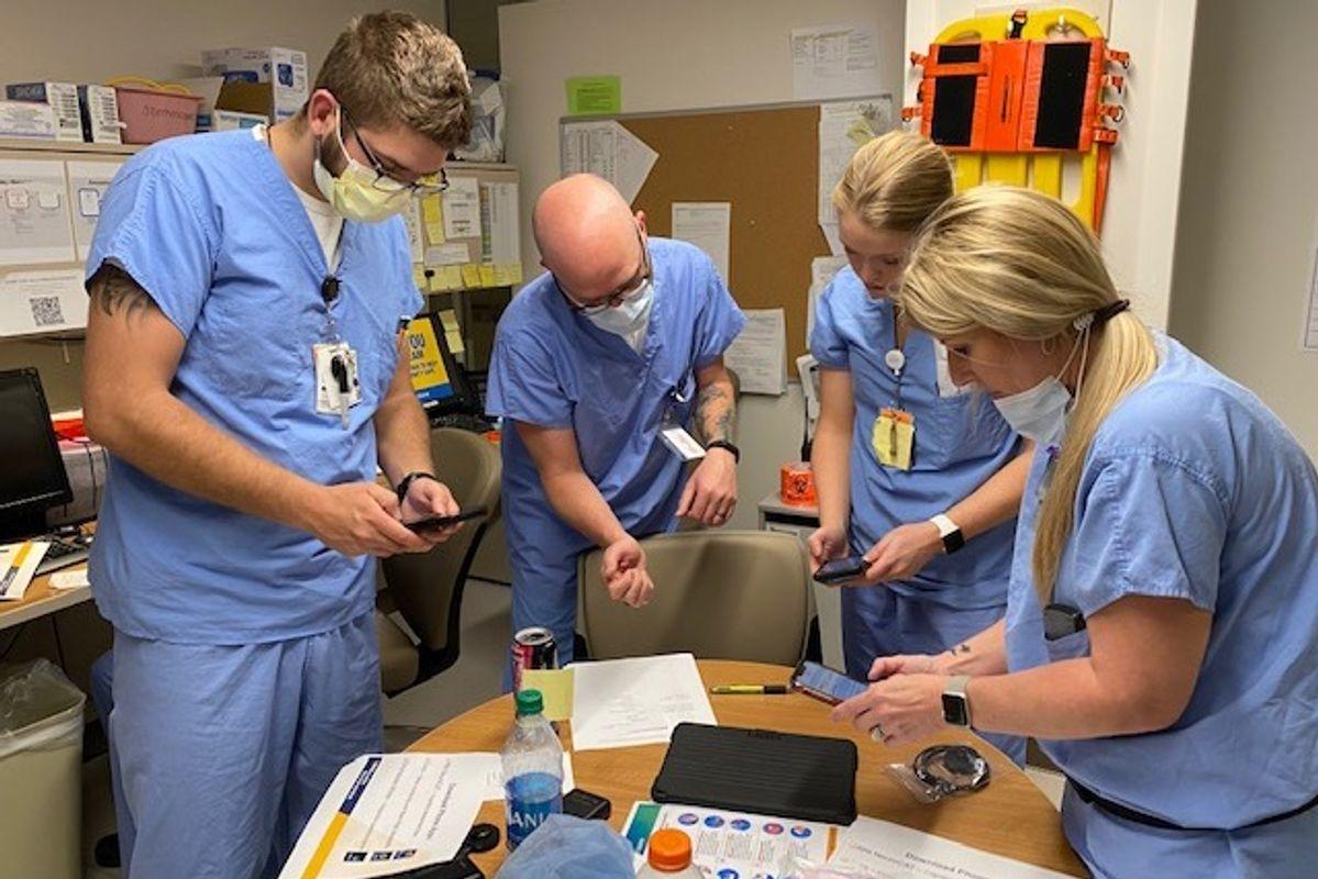 WVU Med team enrolls in COVID study
