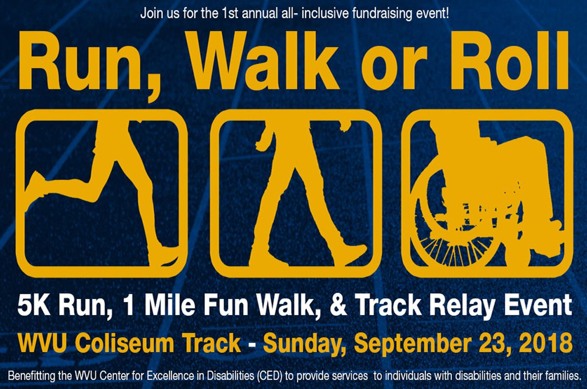 run, walk or roll feature