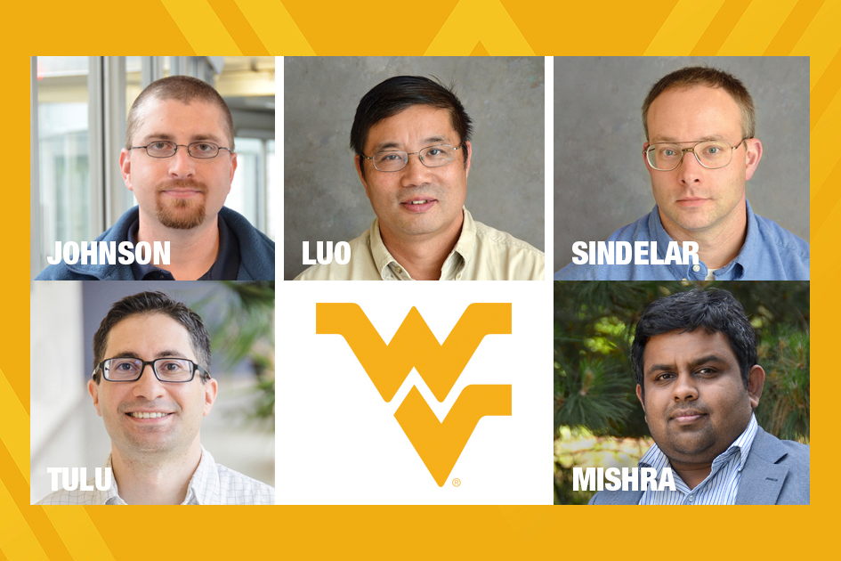 Composite image of WVU mine safety researchers