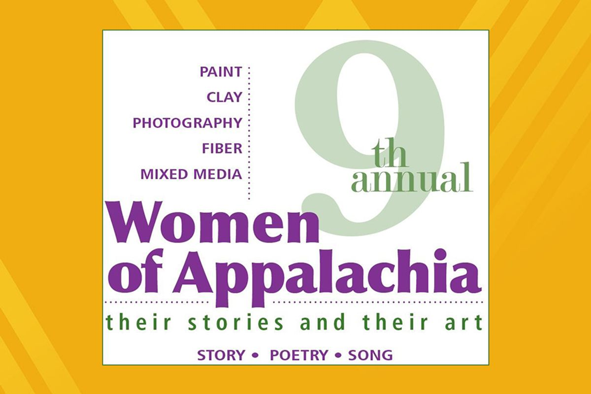Women of Appalachia Spoken Word Event graphic.feature