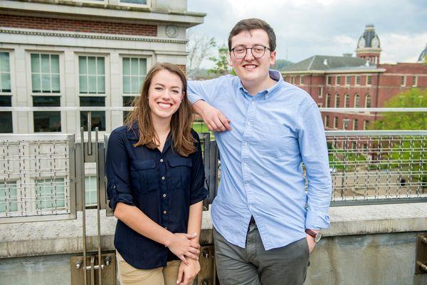 Sydney Brooks, Tony Allen, NSF Fellowships 2017