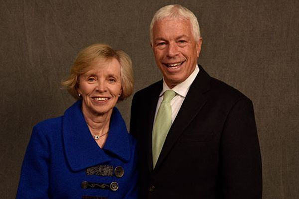 Dr. Lynne and Andy Ostrow