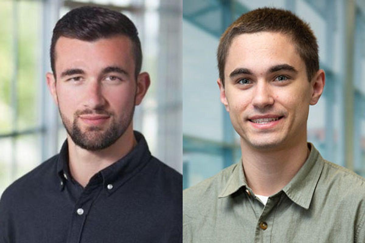 Composite photo of Connor Price and Sean Fasano