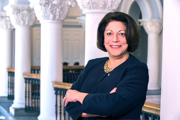 WVU Provost and Vice President of Academic Affairs Joyce McConnell