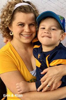 Erin Youngdahl and son