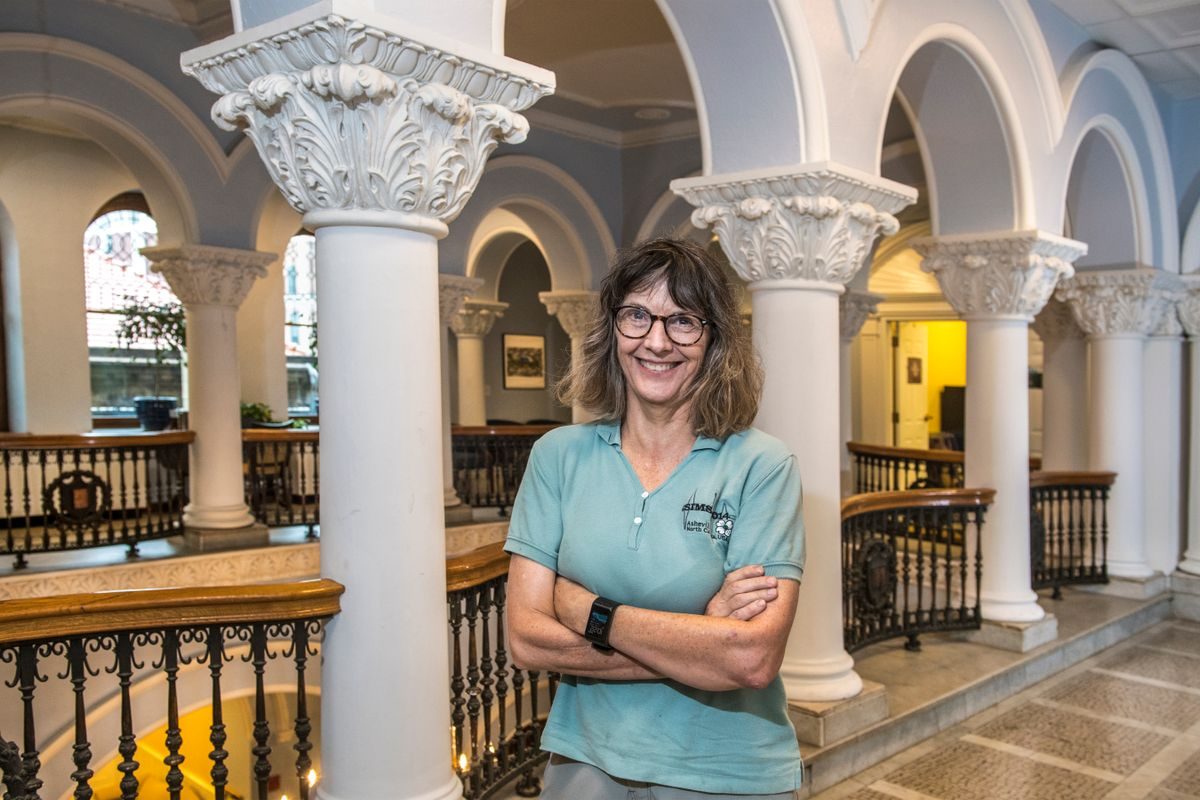Suzanne Bell in Stewart Hall
