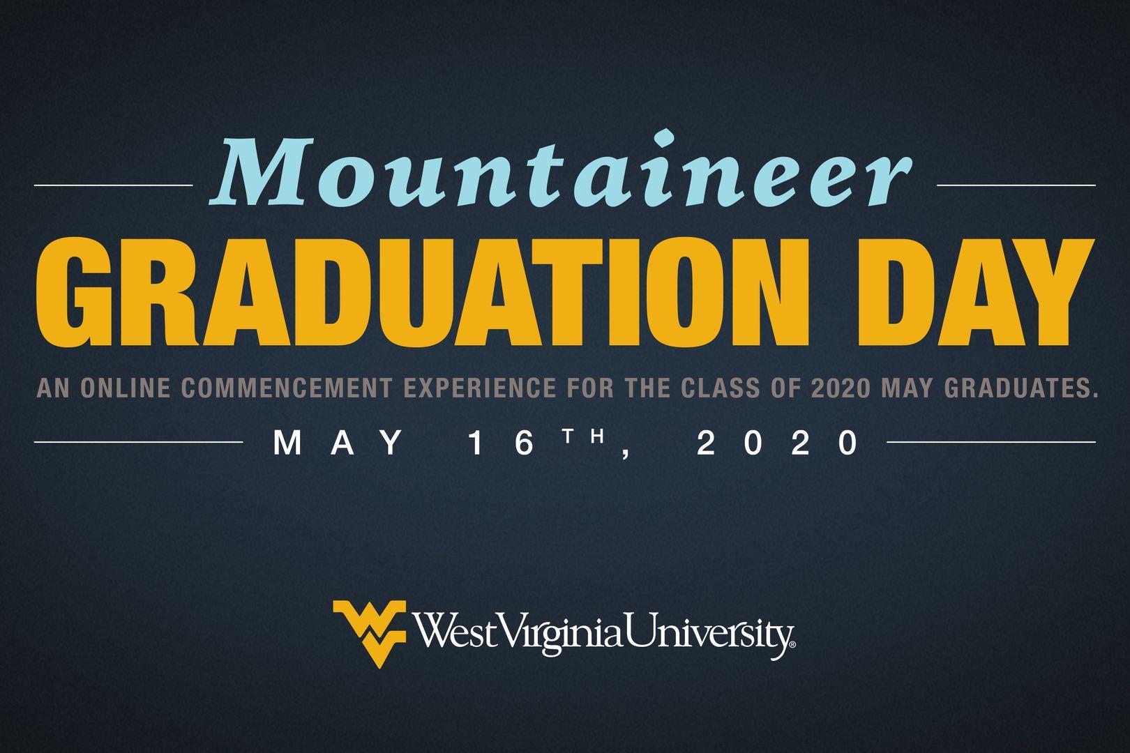 Mountaineer Graduation Day graphic