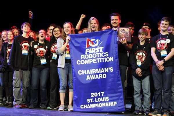 Robotics Team wins