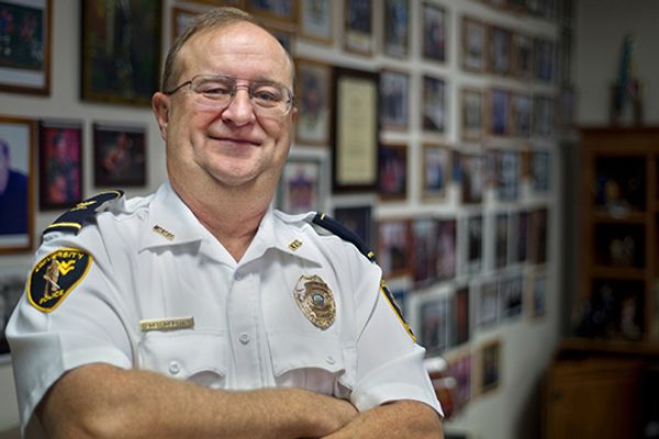 University Police Chief Bob Roberts
