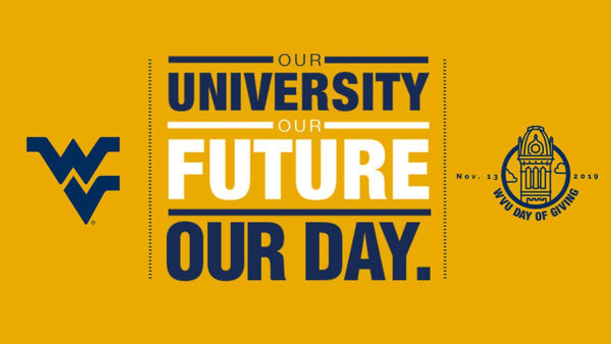 Graphic for WVU Day of Giving