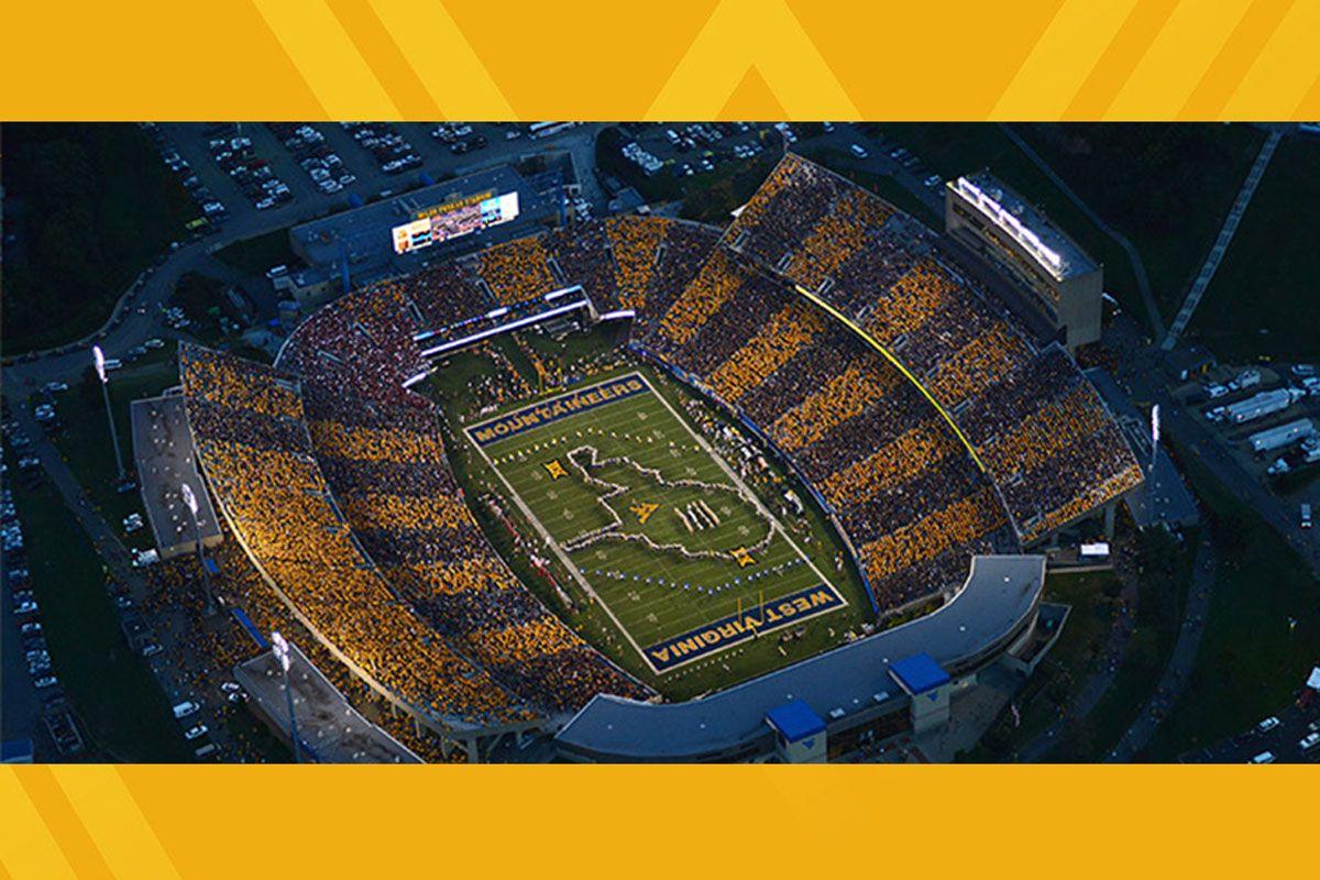 WVU football stadium