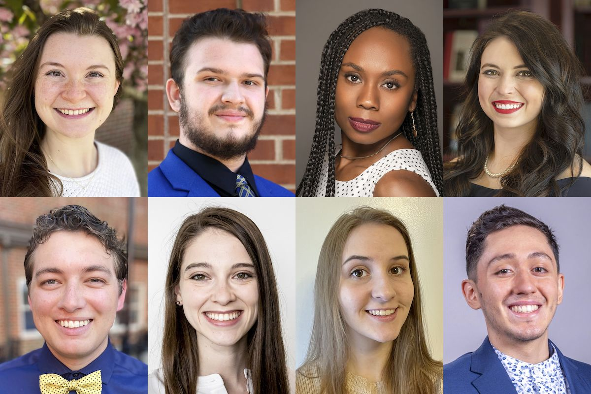 WVU's eight 2021 Order of Augusta honorees