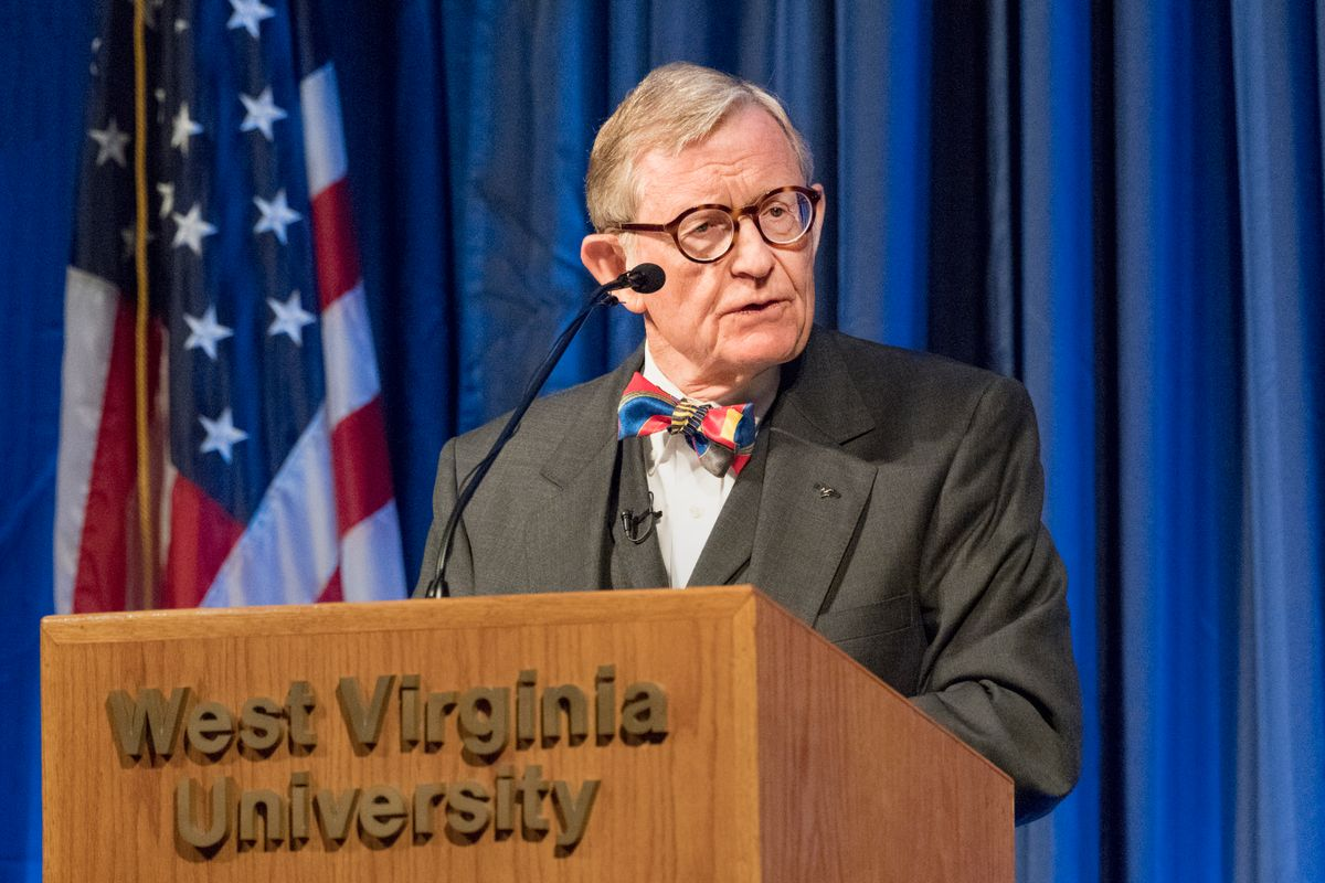 WVU President Gordon Gee delivers his fall 2017 State of the University address.