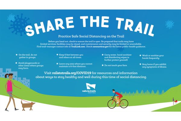 graphic art for share the trail
