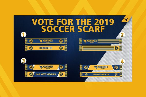 gold background with four scarf designs