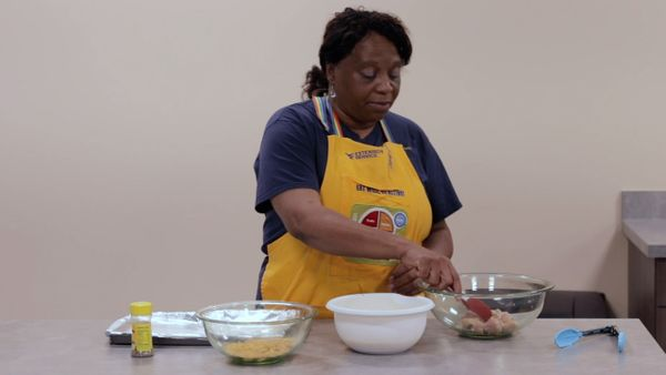 Still of Gina Wood in a nutrition class from WVU Extension