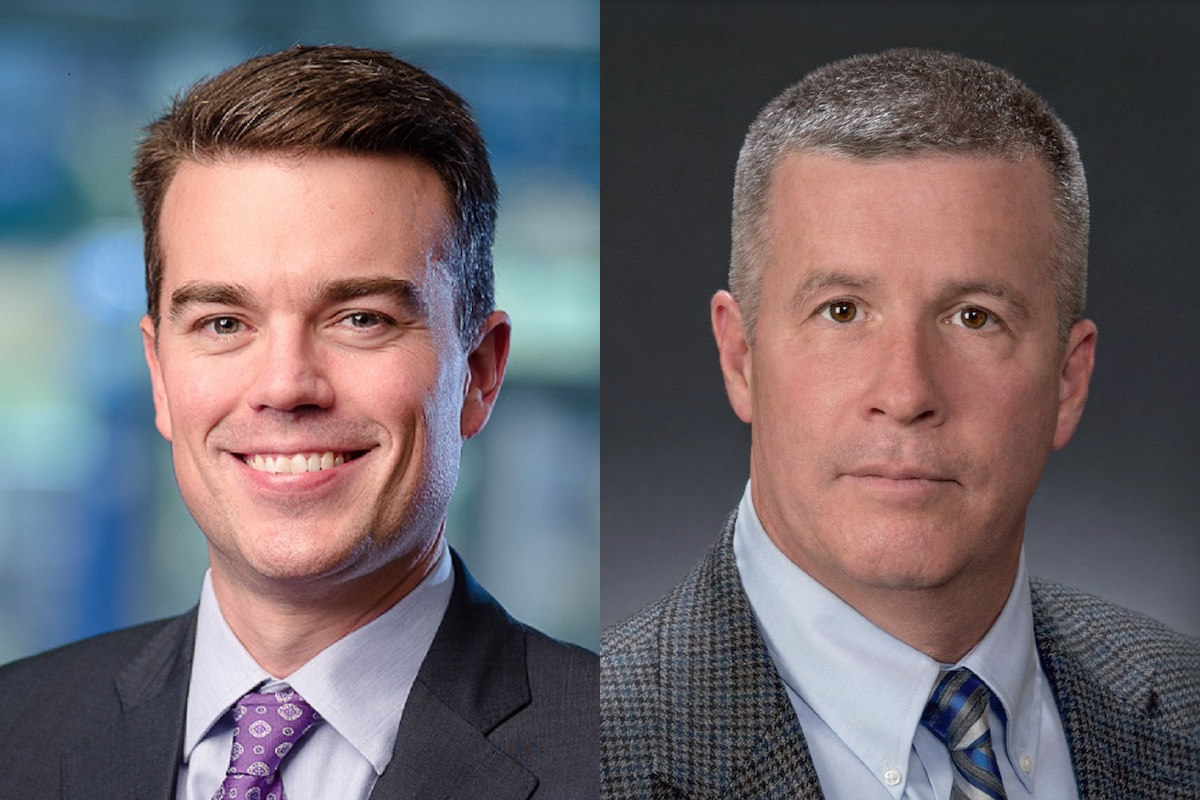 composite of two men in suits and ties