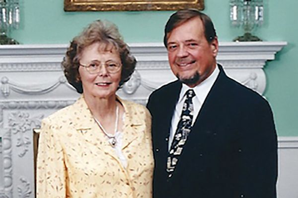 Dr. William Fleming and Dolores Fleming