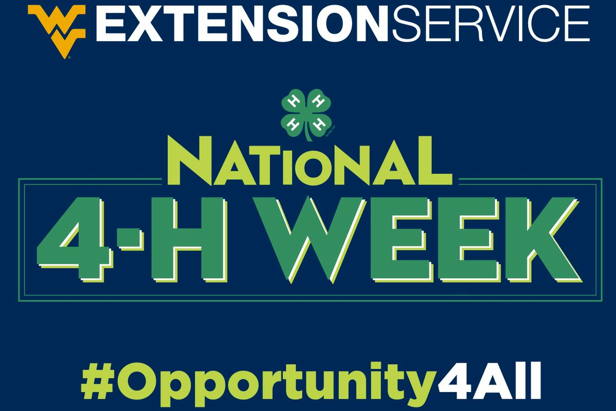 Graphic for National 4-H Week