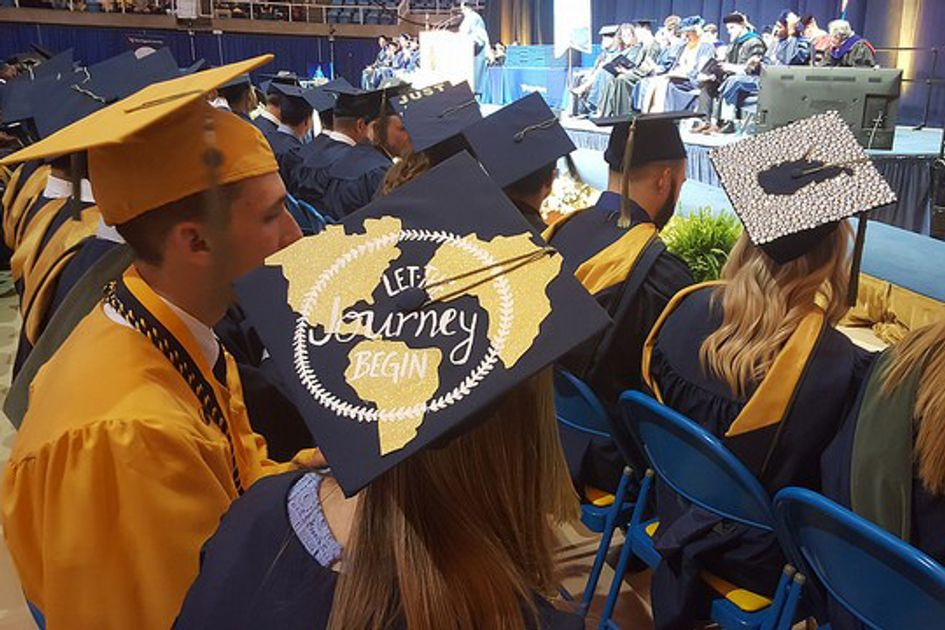 WVU CPASS students at commencement