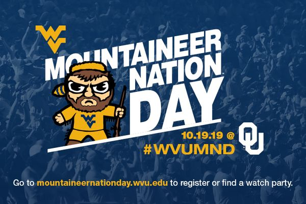 graphic for Mountaineer Nation Day