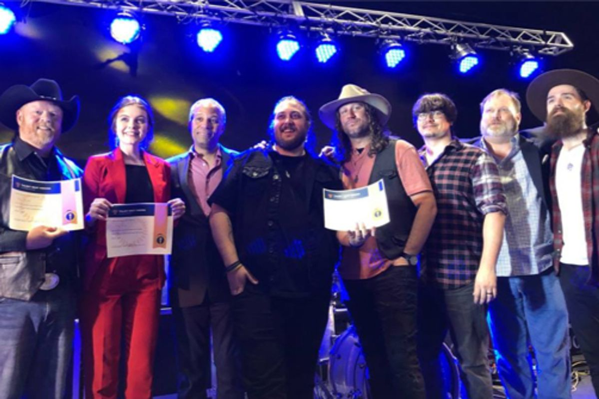 A local rock band from Huntington, Ducain received Collegiate/Professional level first prize, singer/songwriter from Lewisburg, Lillie King received Secondary level first prize and singer/songwriter from Charleston, Dale Harper received second prize.
