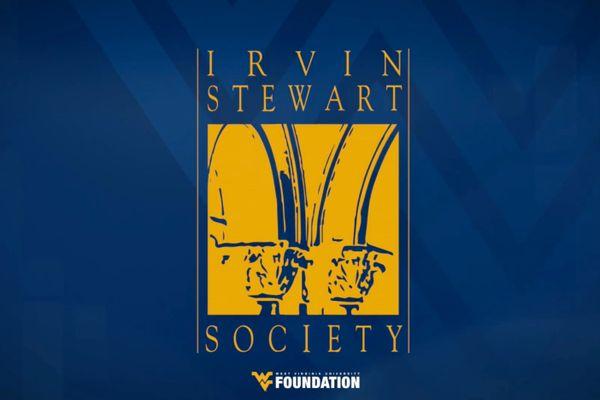 graphic for wvu irvin stewart society