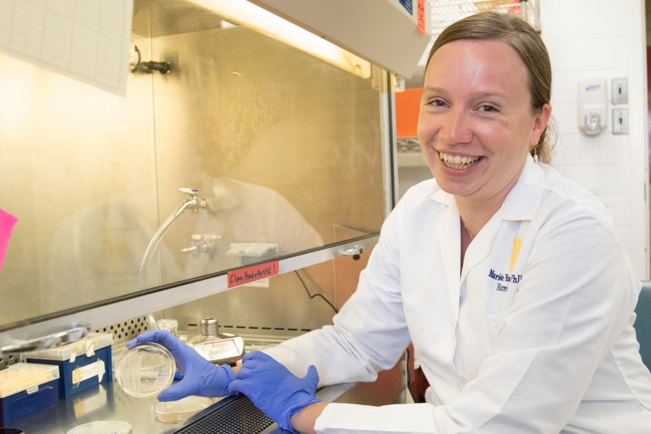 About half of all people with cystic fibrosis, the most common genetic disorder in the United States, die from a lung disease before they turn 40. A form of pneumonia called Pseudomonas aeruginosa is a likely culprit. WVU School of Medicine researcher Mariette Barbier is pursuing new ways to vaccinate at-risk populations against this deadly illness.