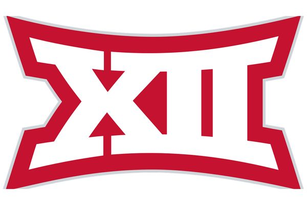 red outline of XII in white