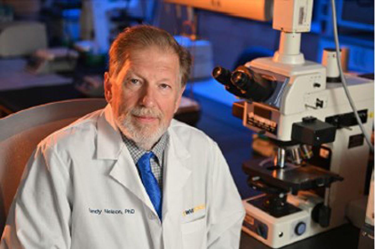 man in whitecoat in lab