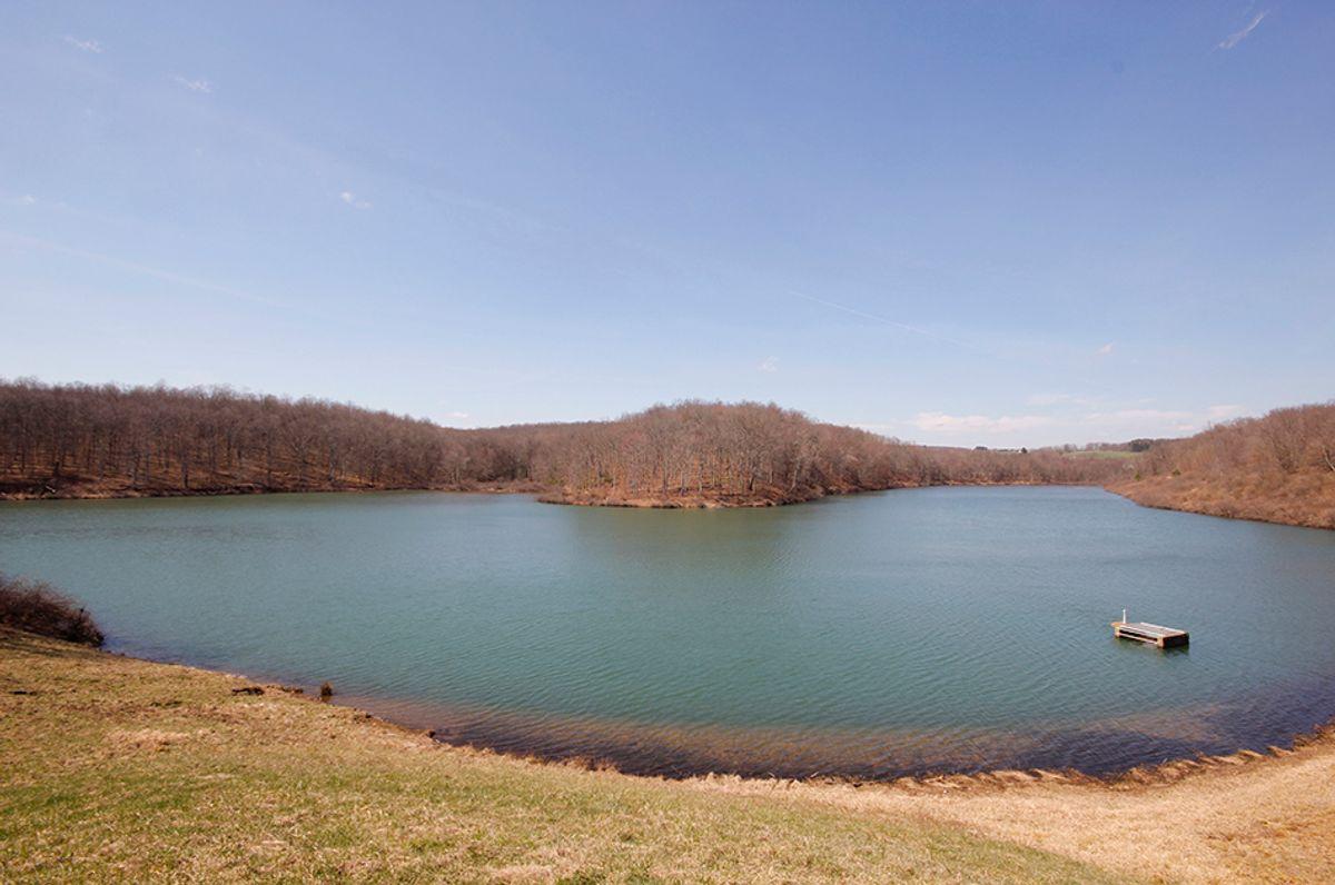 Upper Deckers Creek in Preston County