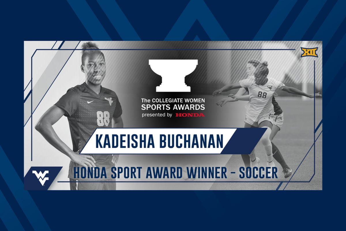 Buchanan Named Honda Sport Award Winner