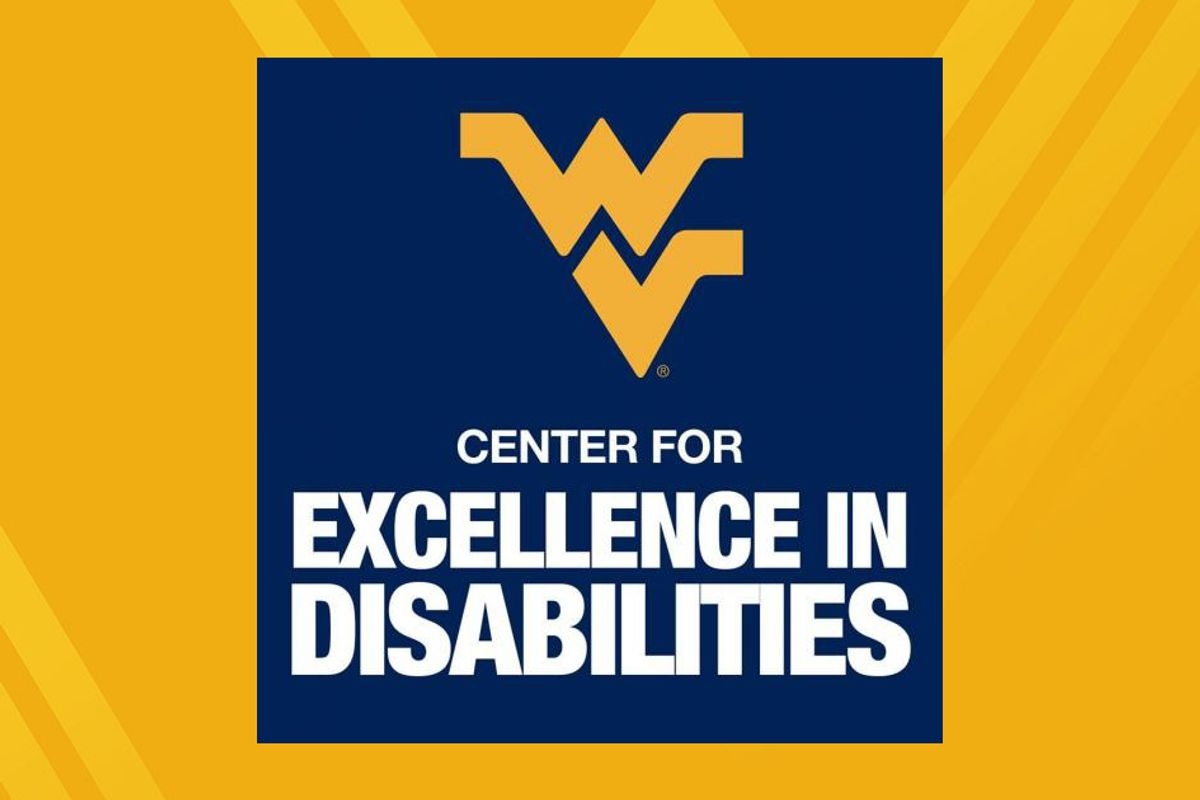 graphic art for the WVU Center for Excellence in Disabilities