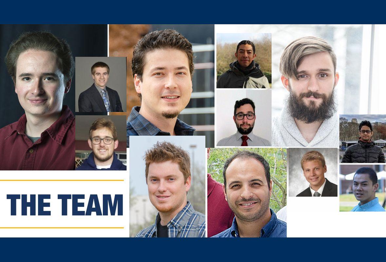 the robotics team at WVU collage