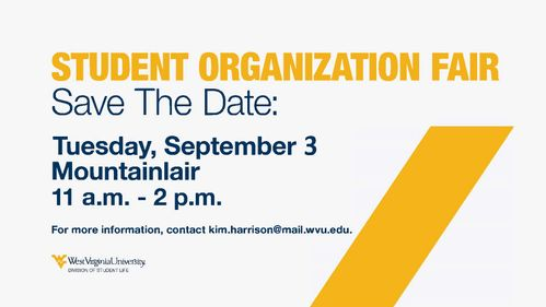Save the Date for Org Fair Sept. 3