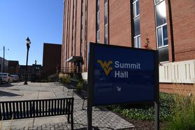 Summit Hall Close Up Exterior View