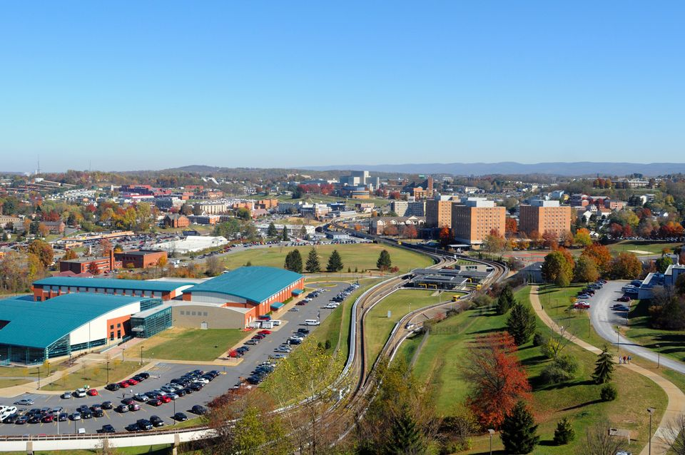 Evansdale Campus view